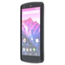 Silicon TPU case LG Nexus 5 zwart