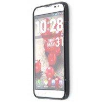 Silicon TPU case LG Optimus G Pro E985 zwart