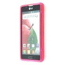 Silicon TPU case LG Optimus L7 II P710 roze