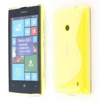 Silicon TPU case Nokia Lumia 520 transparant