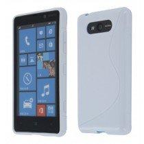 Silicon TPU case Nokia Lumia 820 wit