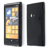 Silicon TPU case Nokia Lumia 920 zwart