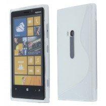 Silicon TPU case Nokia Lumia 920 transparant