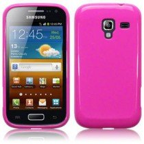 Silicon TPU case Samsung Galaxy Ace 2 i8160 roze