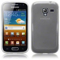 Silicon TPU case Samsung Galaxy Ace 2 i8160 transparant