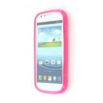 Silicon TPU case Samsung Galaxy Express i8730 roze