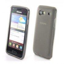 Silicon TPU case Samsung Galaxy S Advance i9070 smoke