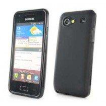 Silicon TPU case Samsung Galaxy S Advance i9070 zwart