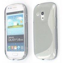 Silicon TPU case Samsung Galaxy S3 Mini i8190 smoke