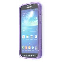 Silicon TPU case Samsung Galaxy S4 Active i9295 paars