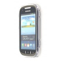 Silicon TPU case Samsung Galaxy Xcover 2 S7710 transparant