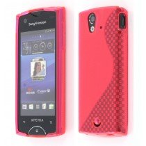 Silicon TPU case Sony Xperia Ray roze