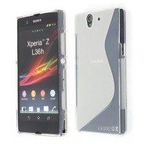 Silicon TPU case Sony Xperia Z transparant