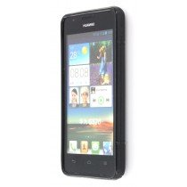 Silicon TPU case Huawei Ascend G525 zwart