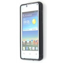 Silicon TPU case Huawei Ascend Y300 zwart