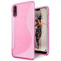 TPU hoesje Huawei P20 roze