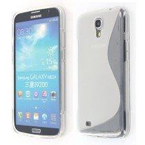 Silicon TPU case Samsung Galaxy Mega i9200 transparant