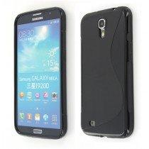 Silicon TPU case Samsung Galaxy Mega i9200 zwart