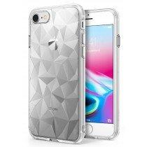 Ultra dun hoesje iPhone 8 - 3D prisma - diamant