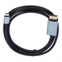 USB-C naar Display Port 8K (male) kabel - 1,8m
