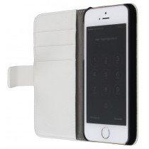 Flip case met stand Apple iPhone 5 / 5S wit