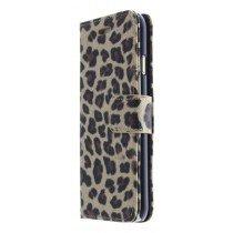 Wallet case tijgerprint Apple iPhone 6 bruin