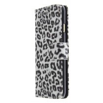 Wallet case tijgerprint Apple iPhone 6 wit