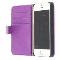 Flip case met stand Apple iPhone 5 / 5S paars