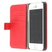 Flip case met stand Apple iPhone 5 / 5S rood