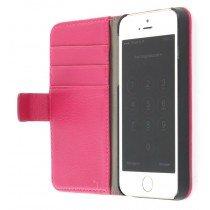 Flip case met stand Apple iPhone 5 / 5S roze