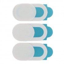 Webcam / camera afdek cover wit (3x) voor Laptop/MacBook/telefoon/iPhone/iPad