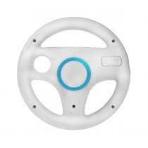 Wii compatibel sports racing wheel - stuur wit