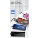Draadloze powerbank met zuignap QC3.0 - PD3.0 - 4x USB - 10000 mAh