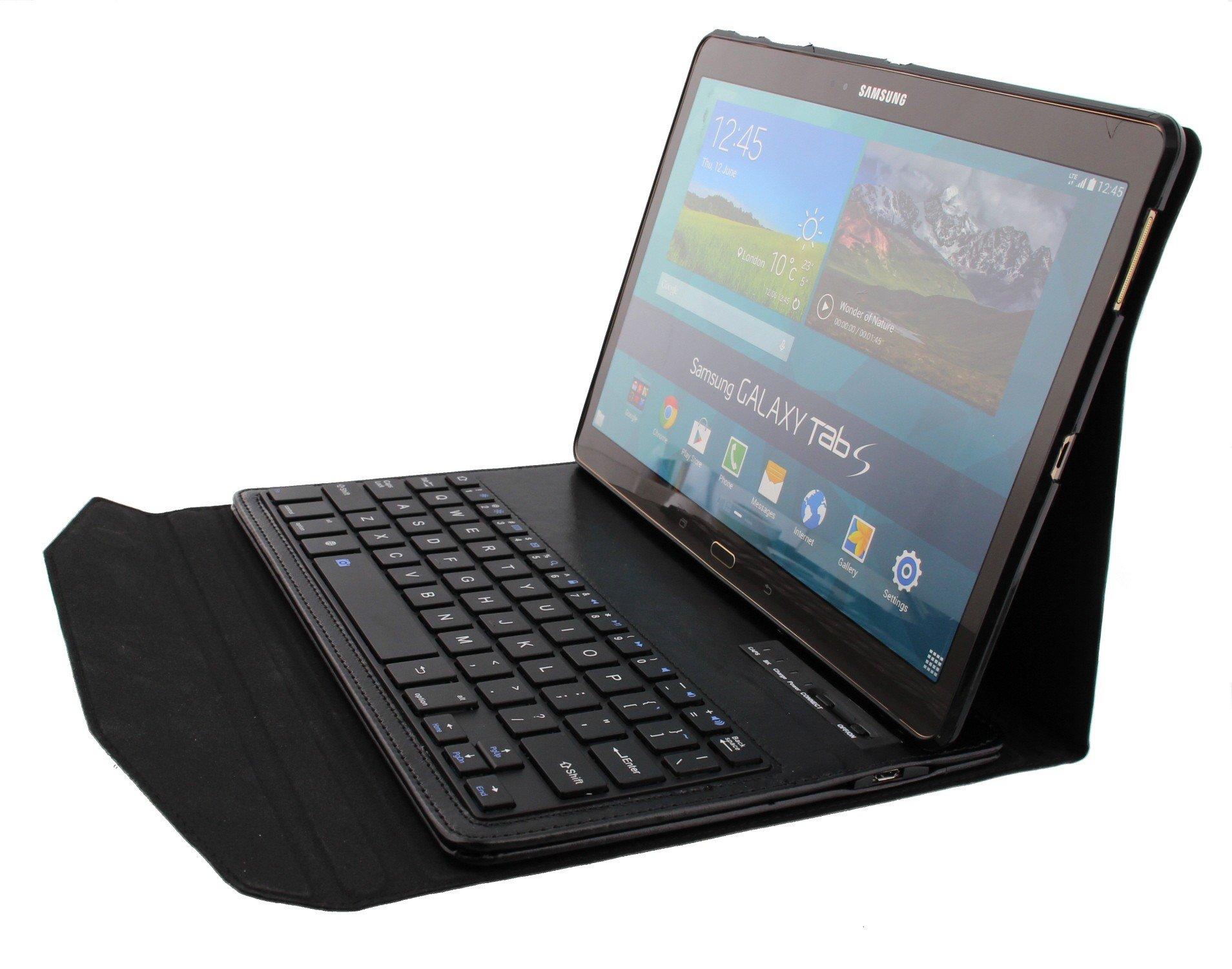 hoes met toetsenbord samsung galaxy tab s 10 5 tablet. Black Bedroom Furniture Sets. Home Design Ideas