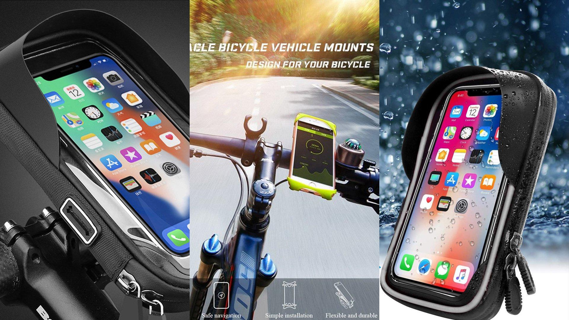 Een telefoonhouder voor je fiets, MTB of racefiets: handig of niet toegestaan?
