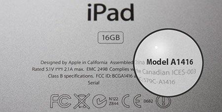 Welk model iPad heb ik?
